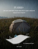 Nebula 2 persoons tent_