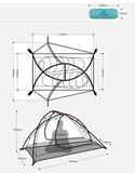 lichtgewicht Wind wing 2P tent_