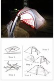 Hiby 3 persoons tent_